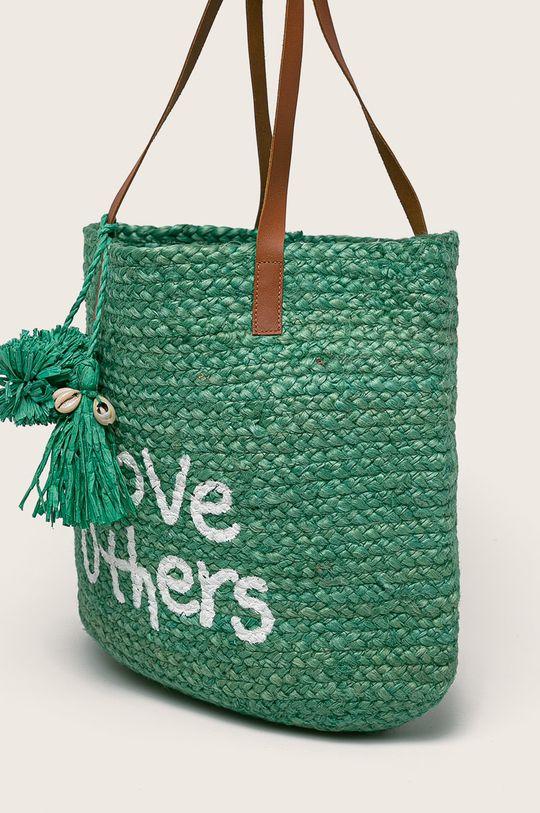 зелен Desigual - Чанта