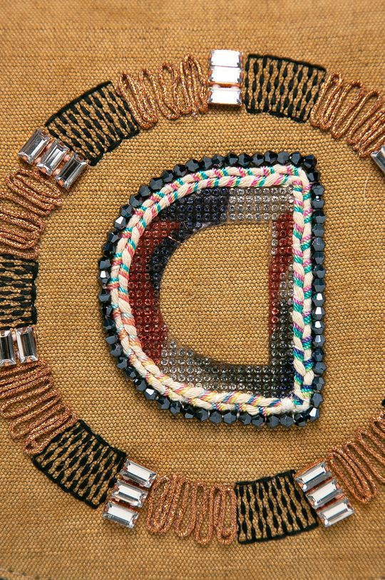 Desigual - Чанта пшеничен