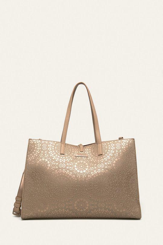Desigual - Чанта злато