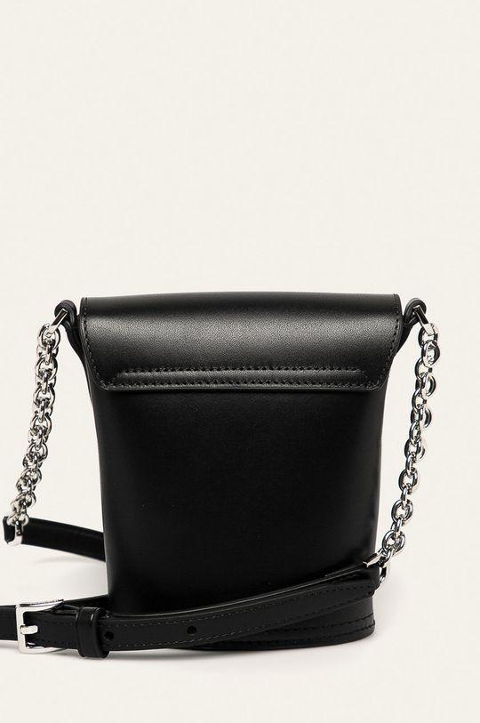 Calvin Klein - Kožená kabelka 100% Přírodní kůže
