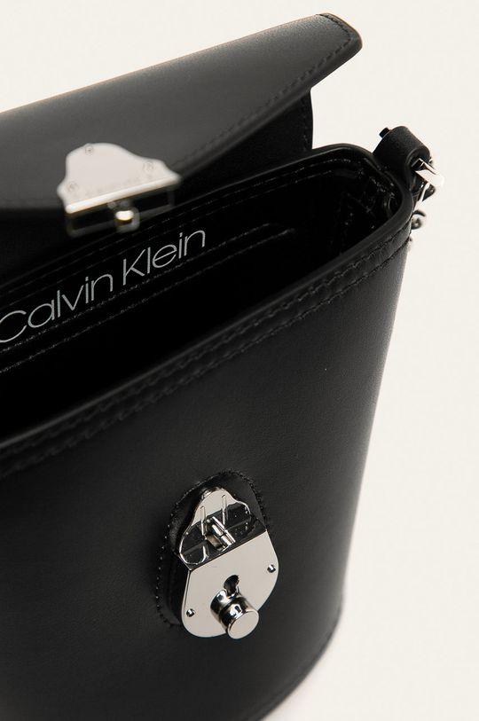 Calvin Klein - Kožená kabelka Dámský