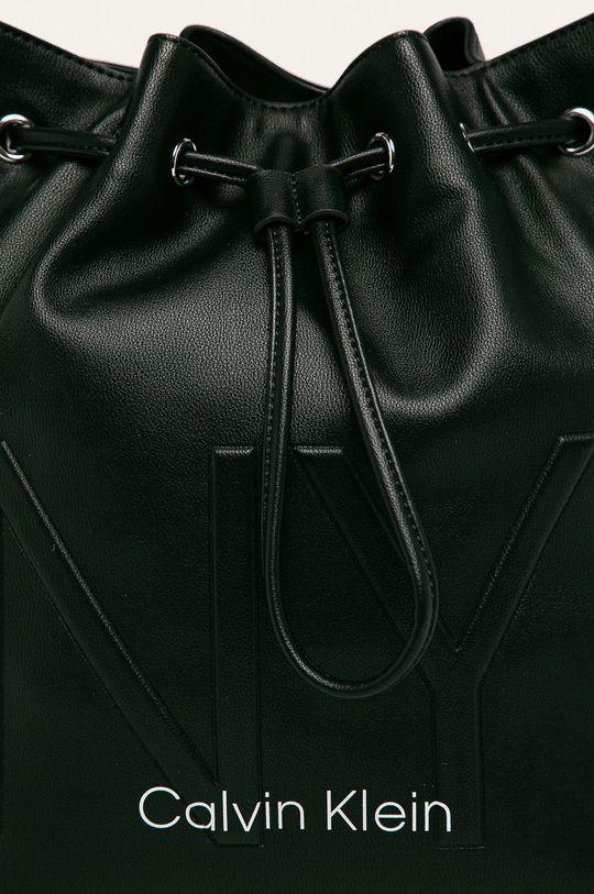 Calvin Klein - Kabelka čierna