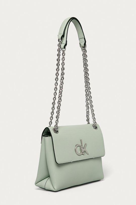 Calvin Klein - Poseta verde pal