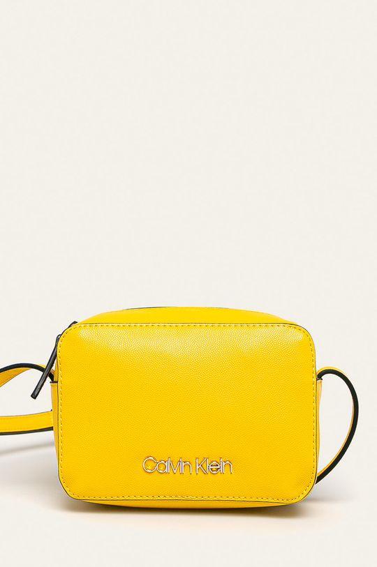 žltá Calvin Klein - Kabelka Dámsky