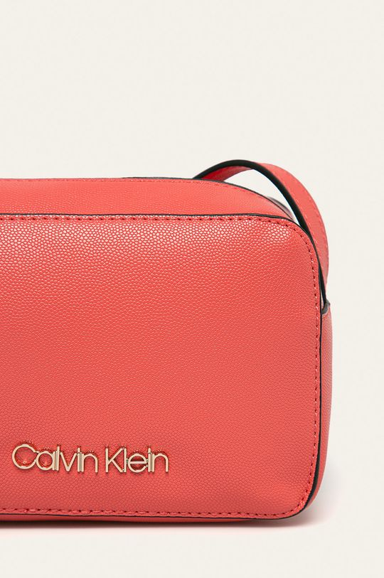 Calvin Klein - Kabelka koralová