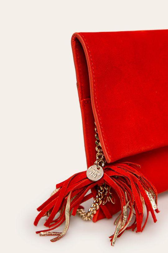 Patrizia Pepe - Kožená kabelka červená