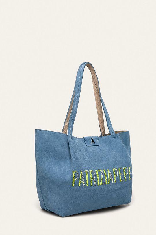 Patrizia Pepe - Kožená kabelka modrá