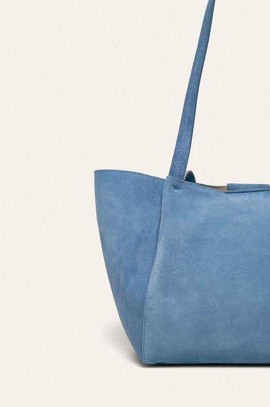 modrá Patrizia Pepe - Kožená kabelka