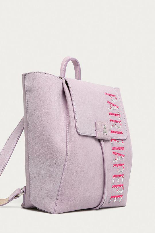 Patrizia Pepe - Kožený ruksak Borsa  100% Semišová koža