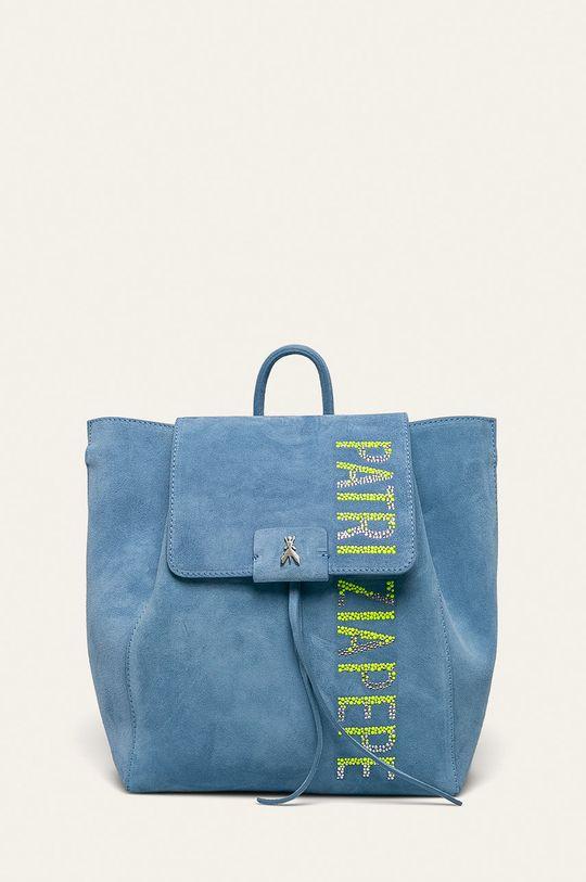 modrá Patrizia Pepe - Kožený ruksak Borsa Dámsky
