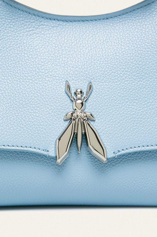 Patrizia Pepe - Kožená kabelka světle modrá