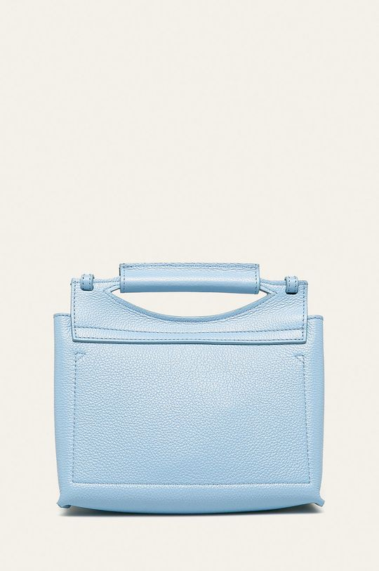 světle modrá Patrizia Pepe - Kožená kabelka