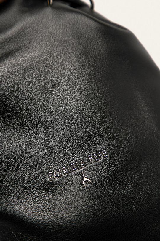 Patrizia Pepe - Kožená kabelka černá