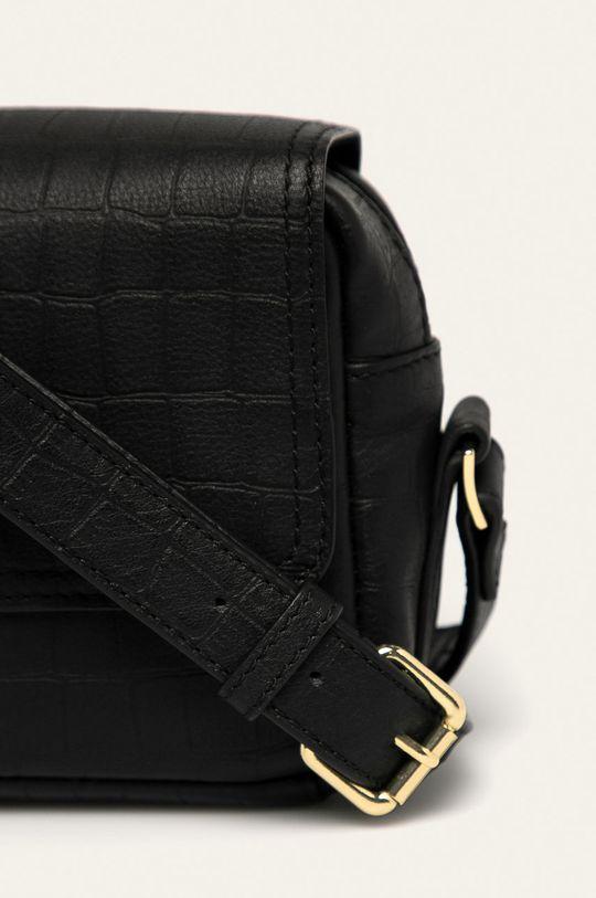 Scotch & Soda - Кожена чанта черен