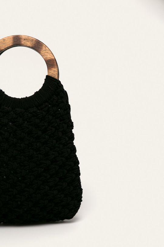 černá Pieces - Kabelka