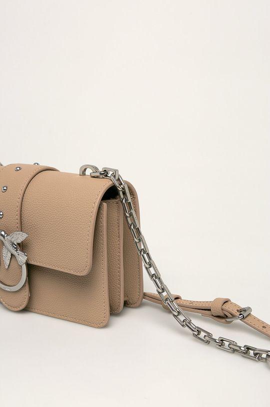 Pinko - Kožená kabelka <p>Hlavní materiál: 100% Přírodní kůže</p>