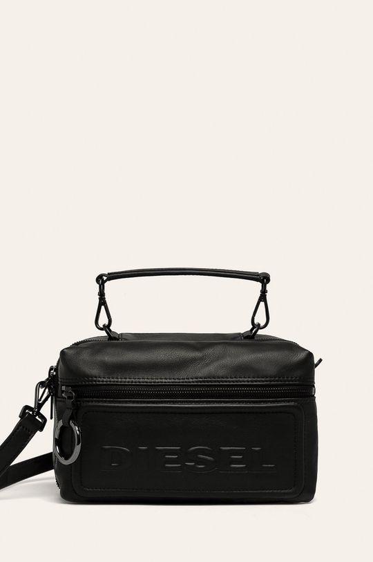 černá Diesel - Kožená kabelka Dámský