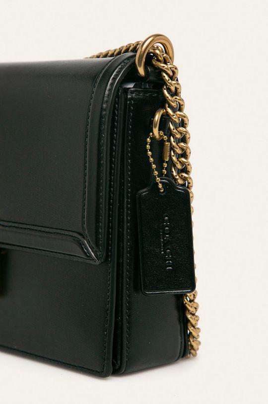 Coach - Kožená taška čierna