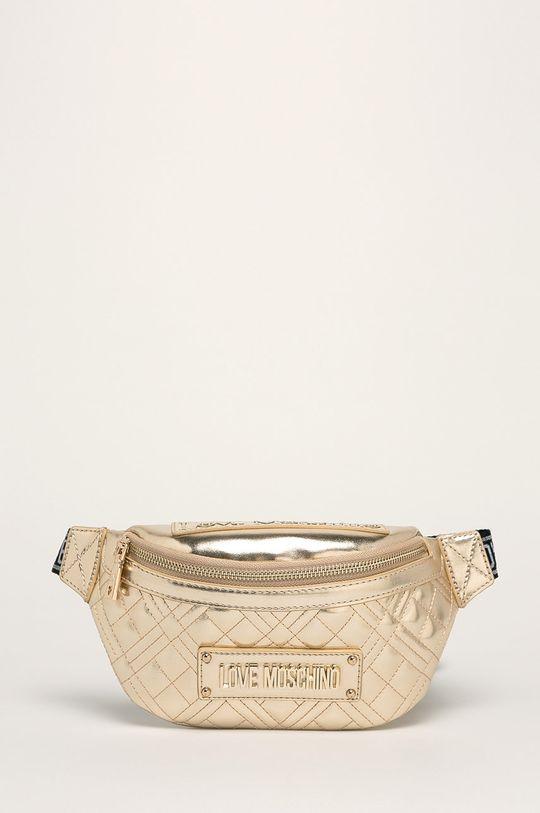 злато Love Moschino - Чанта за кръст Жіночий