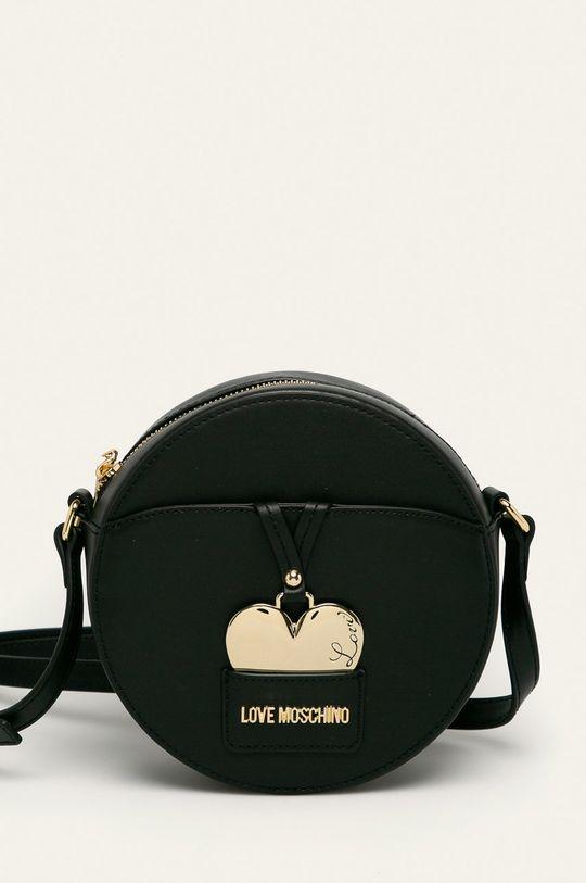 negru Love Moschino - Poseta de piele De femei