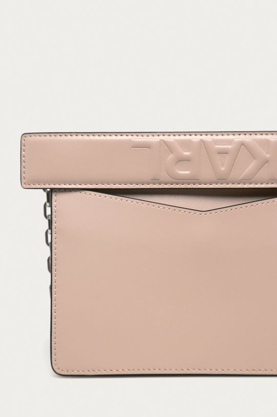 růžová Karl Lagerfeld - Kožená kabelka