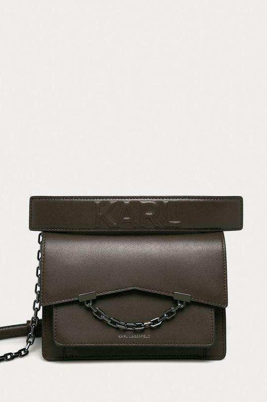 Karl Lagerfeld - Kožená kabelka <p>  100% Přírodní kůže</p>