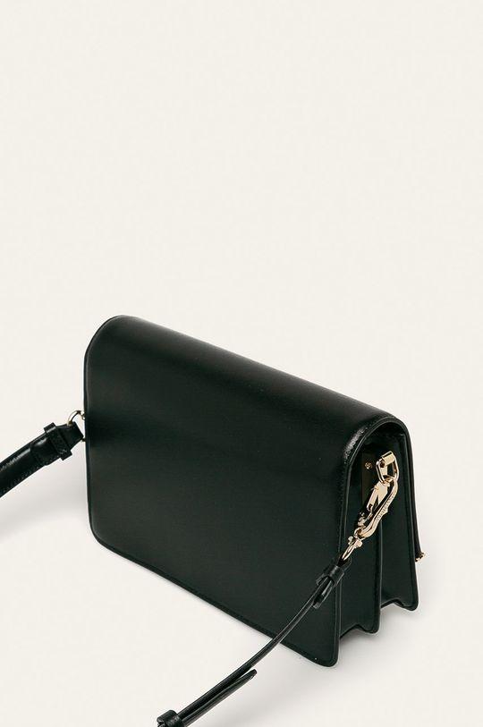 černá Karl Lagerfeld - Kožená kabelka