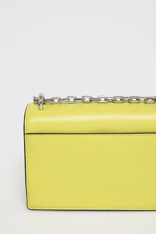 žlutě zelená Karl Lagerfeld - Kožená kabelka