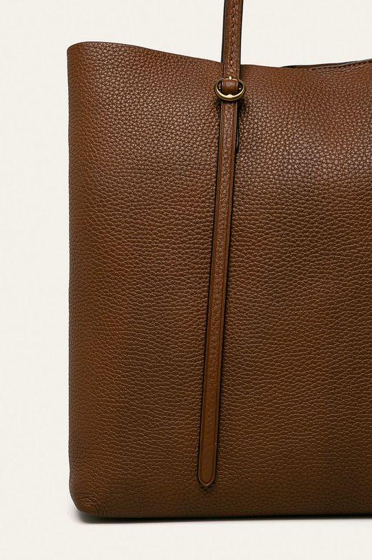 hnedá Polo Ralph Lauren - Kožená kabelka