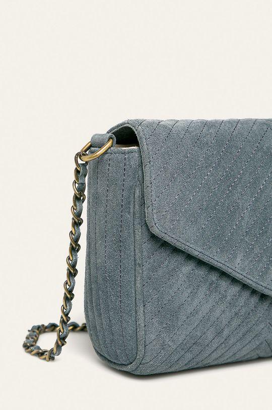 Pepe Jeans - Kožená kabelka Polonia  100% Semišová koža