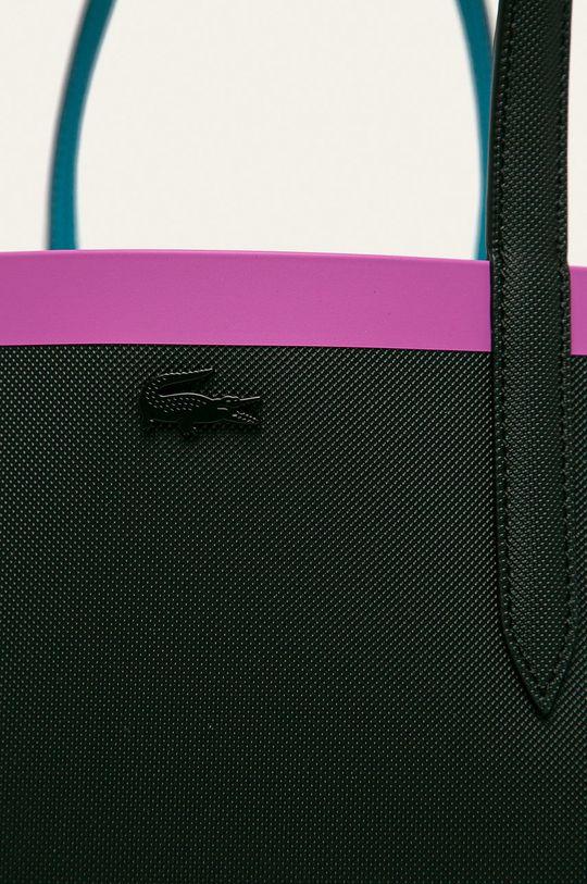 Lacoste - Obojstranná kabelka čierna
