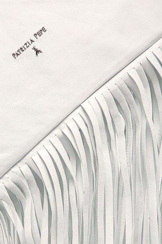 Patrizia Pepe - Kožená kabelka bílá