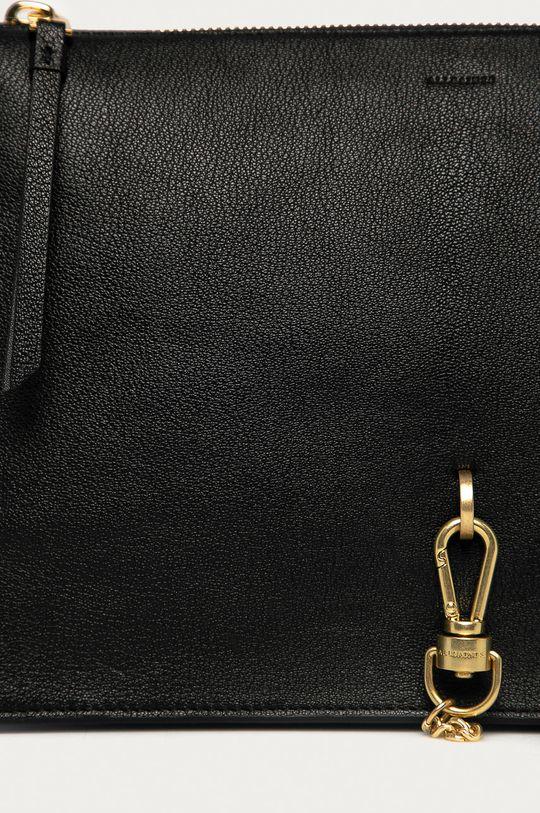 AllSaints - Kožená kabelka Sheringham  Podšívka: 100% Bavlna Hlavní materiál: 100% Přírodní kůže