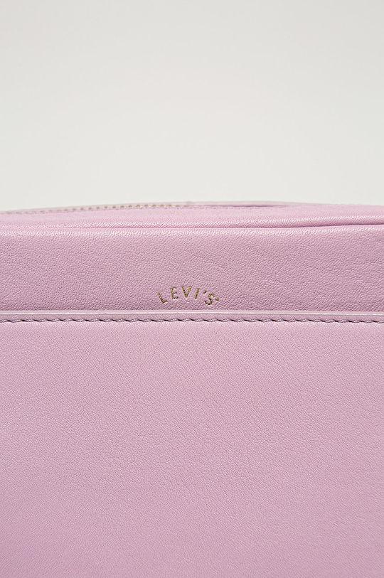 Levi's - Bőr táska levendula