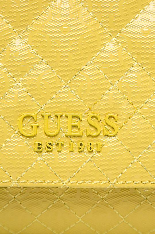 Guess Jeans - Kabelka žlutá