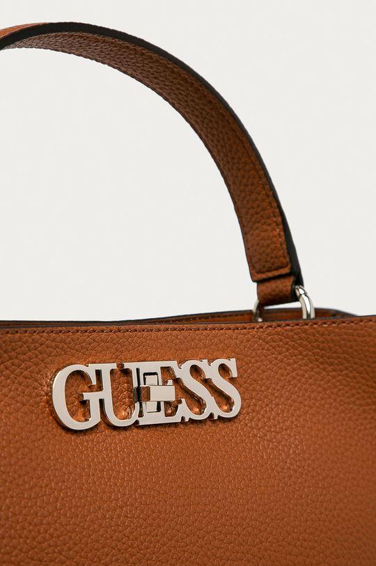 Guess Jeans - Torebka Podszewka: 20 % Bawełna, 80 % Poliester, Materiał zasadniczy: 100 % Poliuretan