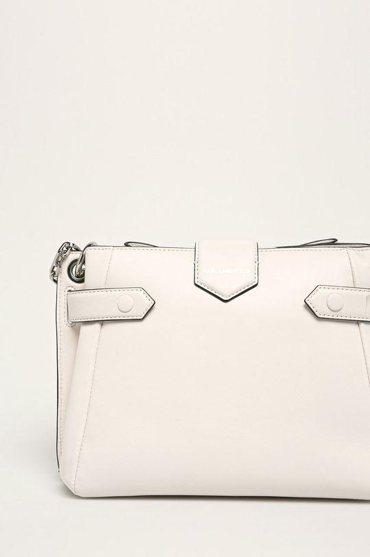 bílá Karl Lagerfeld - Kožená kabelka