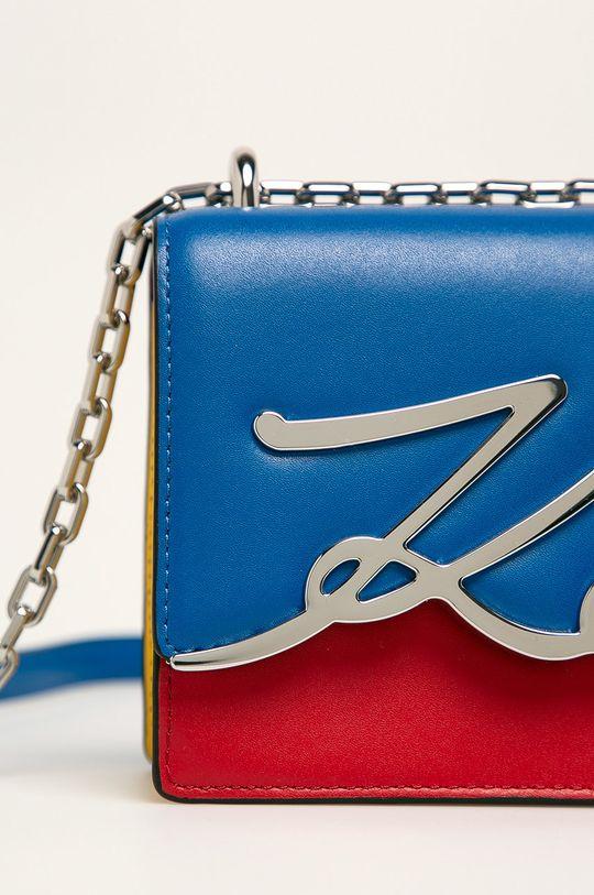 Karl Lagerfeld - Kožená kabelka vícebarevná