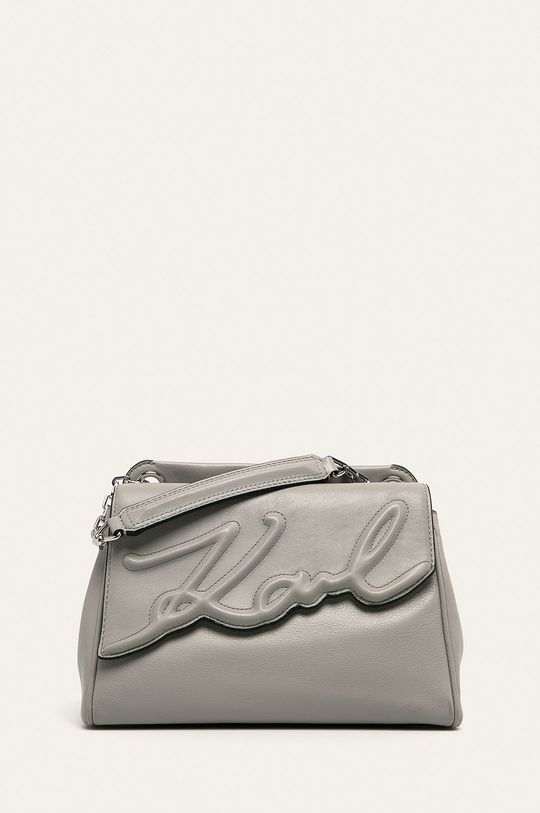 písková Karl Lagerfeld - Kožená kabelka Dámský
