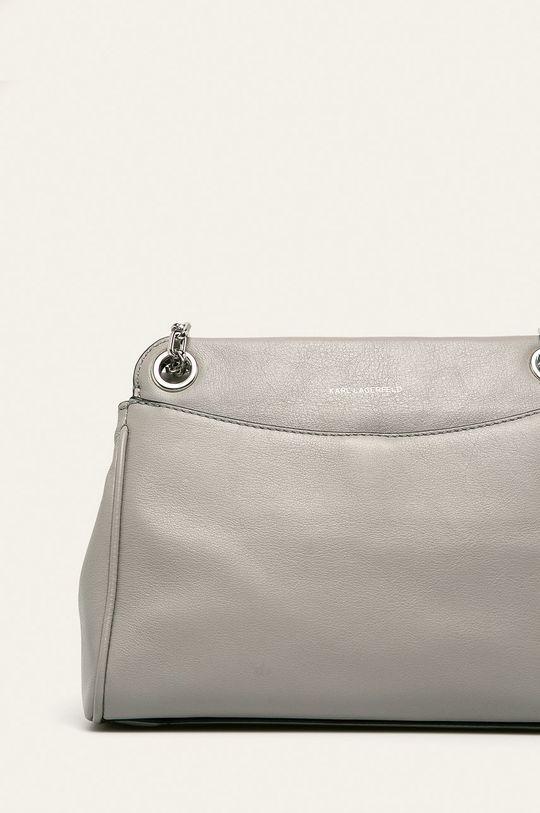 písková Karl Lagerfeld - Kožená kabelka
