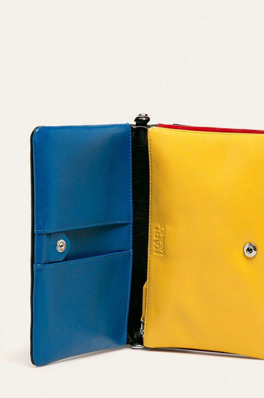 vícebarevná Karl Lagerfeld - Kožená kabelka