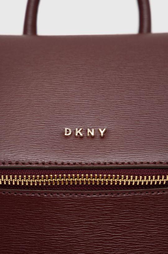 kaštanová Dkny - Kožený batoh