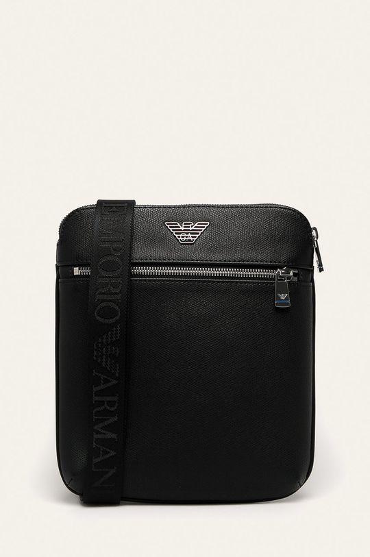 negru Emporio Armani - borseta De bărbați