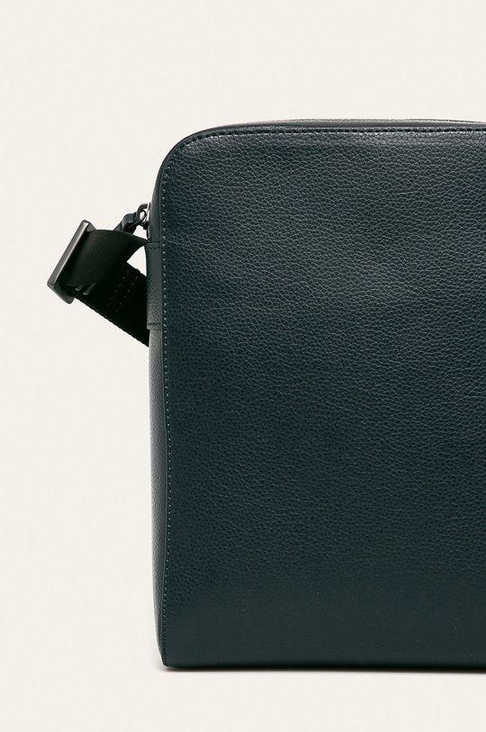 tmavomodrá Emporio Armani - Kožená taška