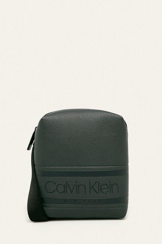grafitová Calvin Klein - Ledvinka Pánský