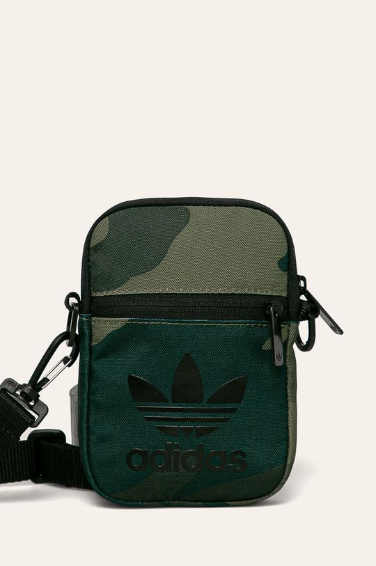 zelená adidas Originals - Ledvinka Pánský