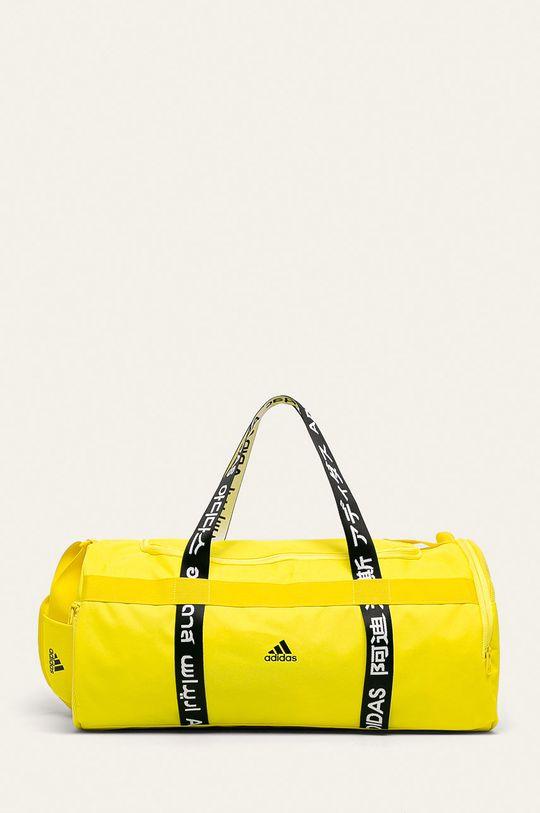 žlutá adidas Performance - Taška Pánský
