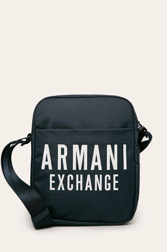 granatowy Armani Exchange - Saszetka Męski
