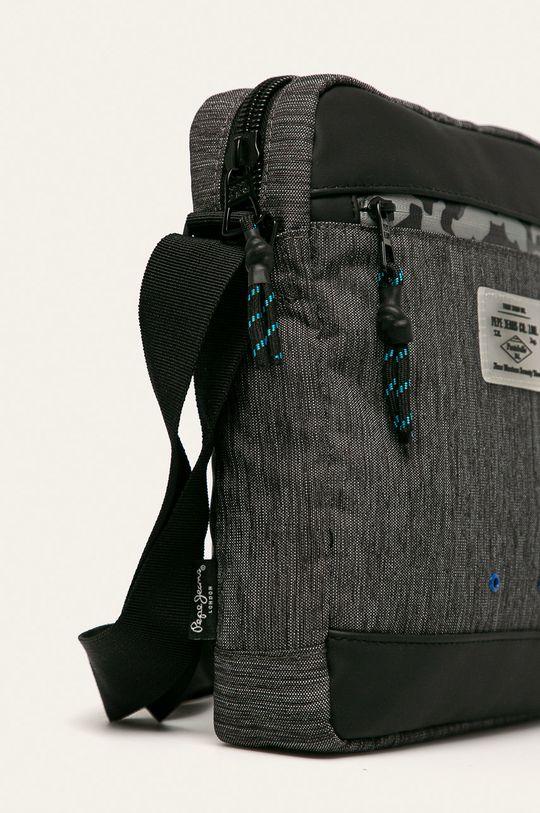 Pepe Jeans - Malá taška Raw čierna