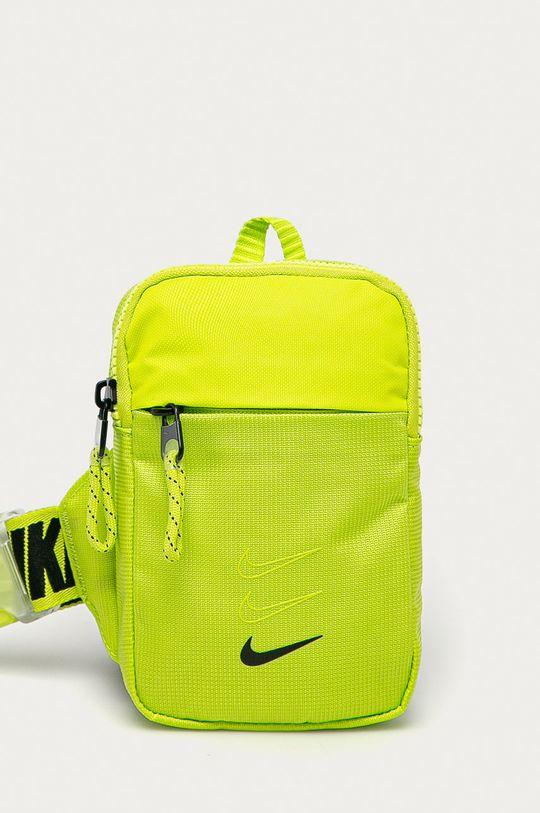 żółto - zielony Nike Sportswear - Saszetka Unisex